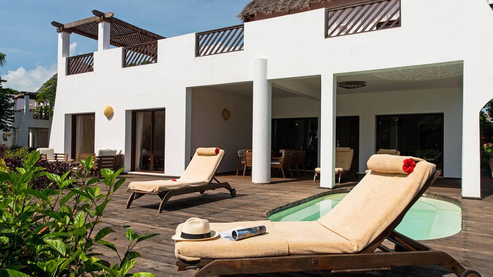 Essque Zalu Villa Terrasse Zanzibar