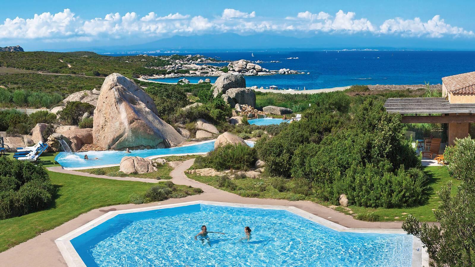 Valle Del Erica Sardaigne thalasso piscine
