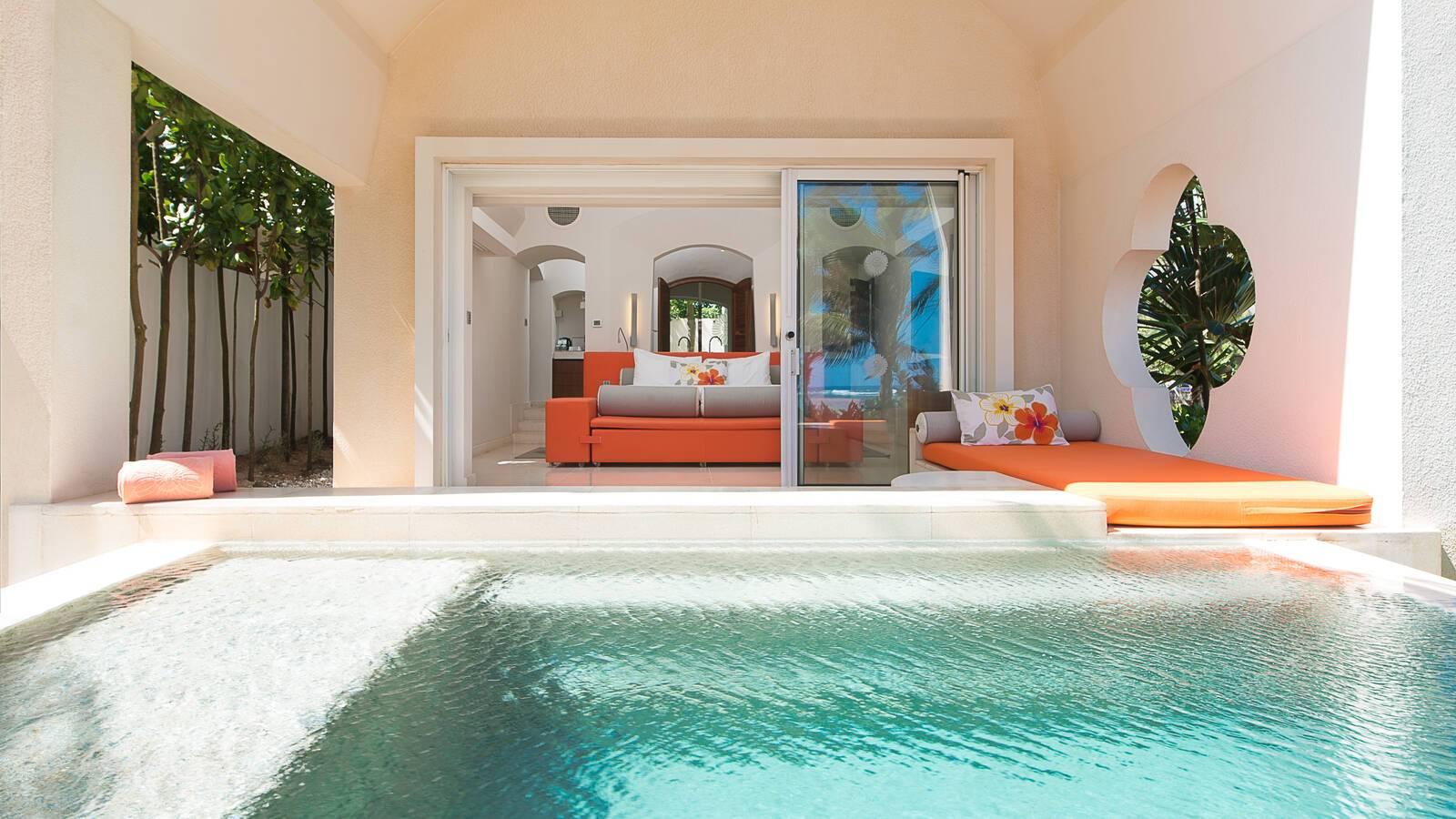 Sofitel So Maurituis suite beach piscine