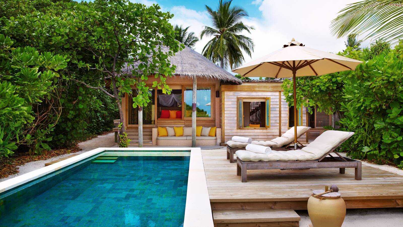 Six Senses Laamu Family Villa Maldives