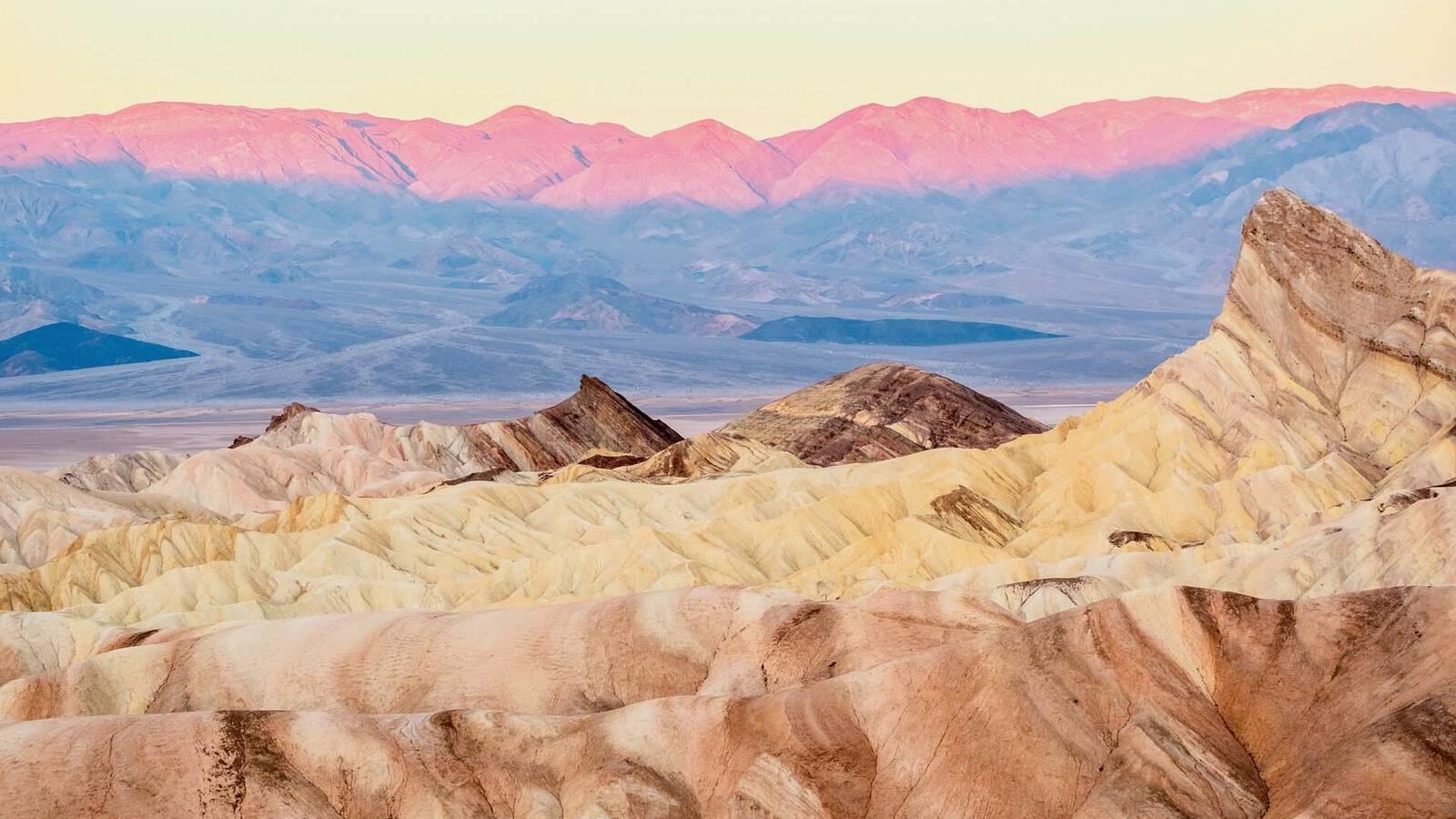 Death Valley haveseen