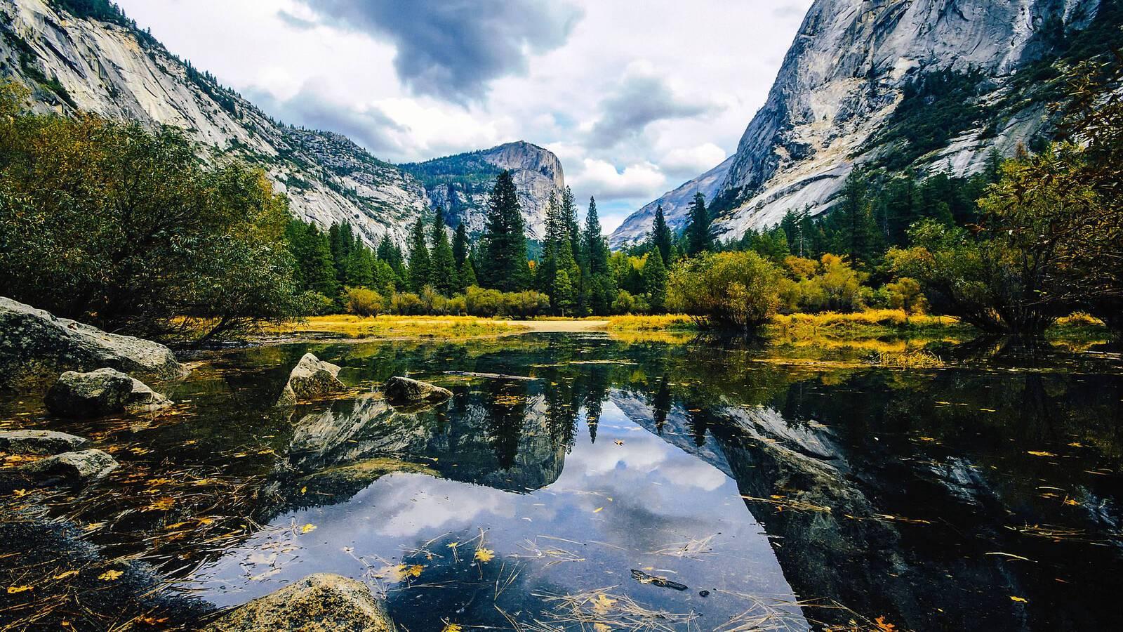 Yosemite mirror lake Californie 12019
