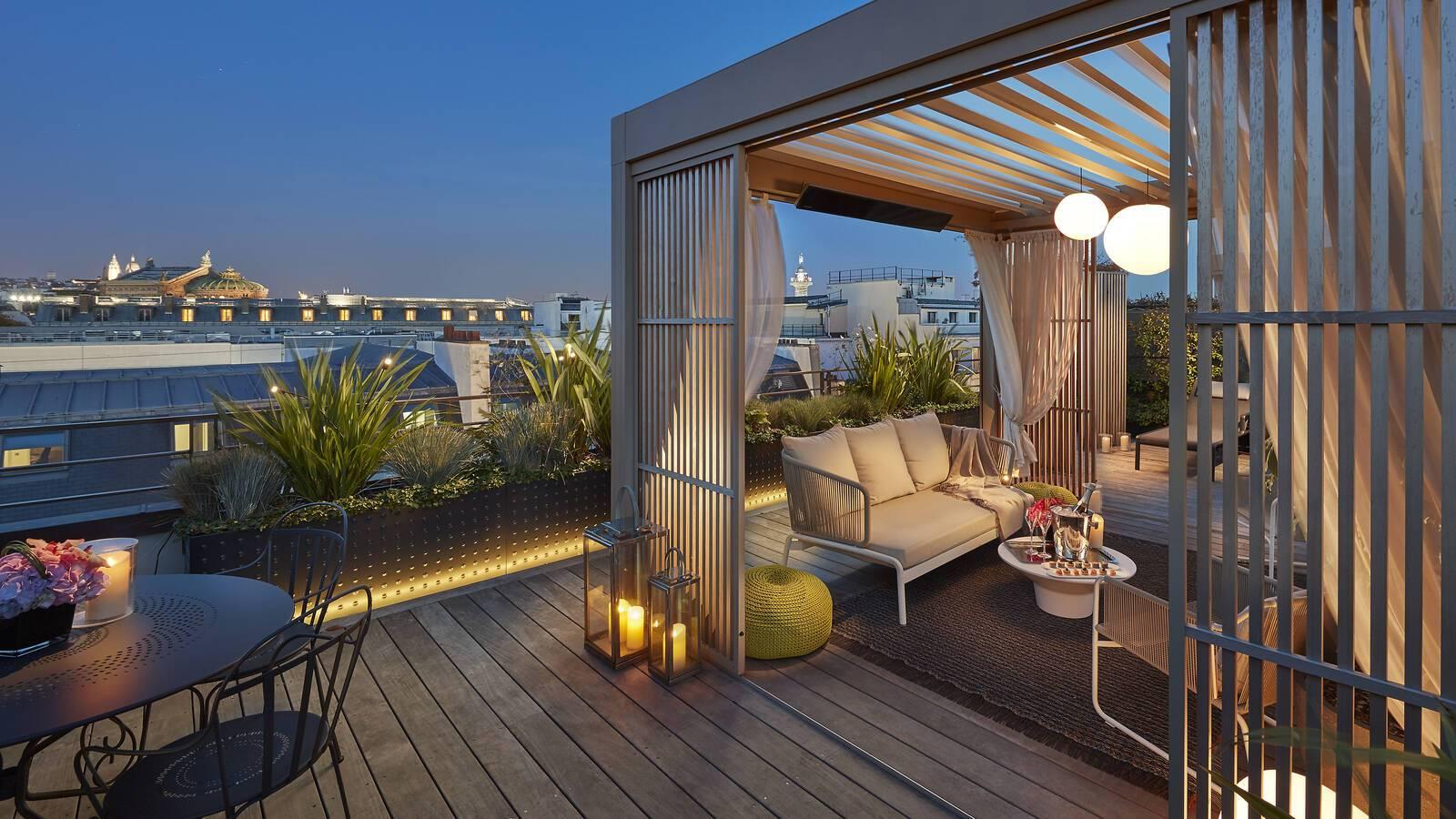 Mandarin Oriental Penthouse Chambre Paris