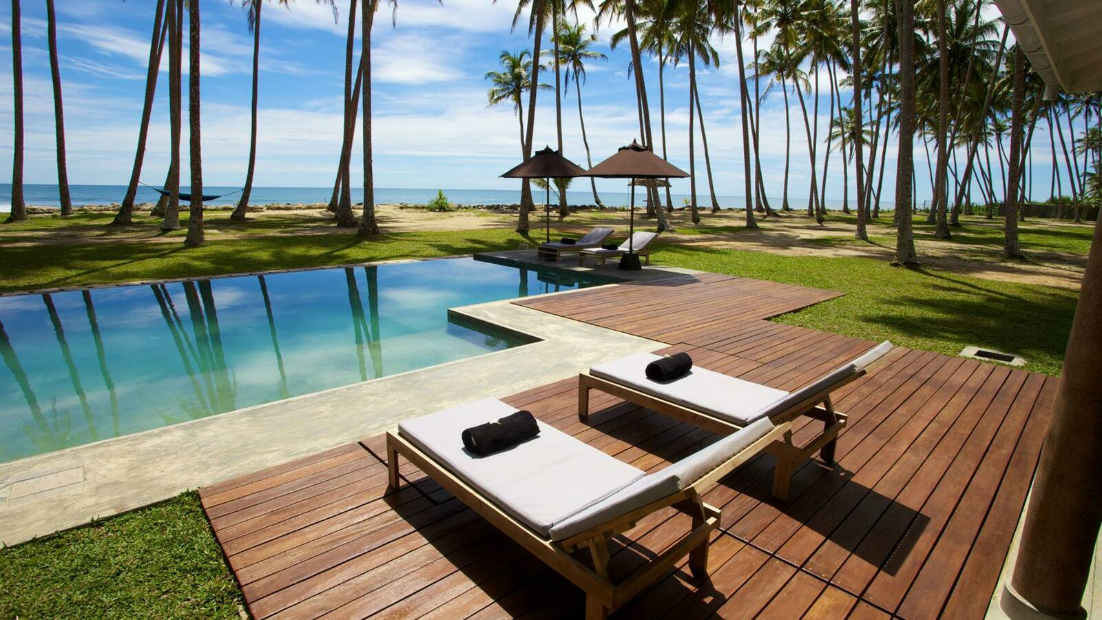 Koggala Fortress Resort Piscine Circuit Sri Lanka