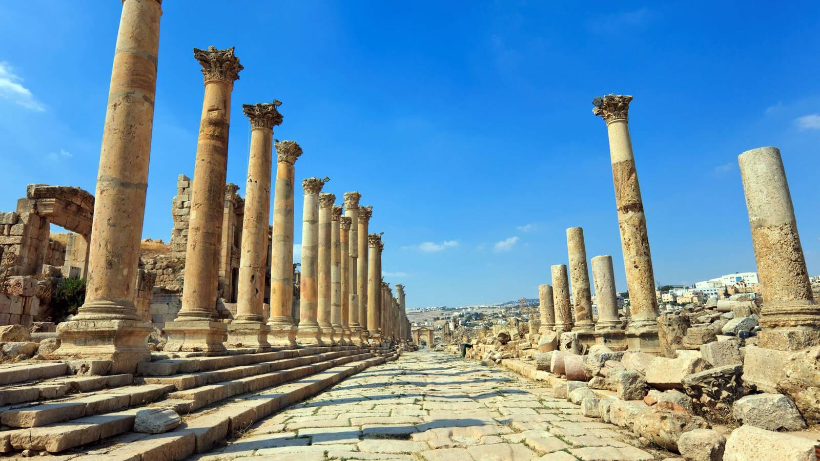 Jerash Ruines Temples Jordanie JordanTourismBoard