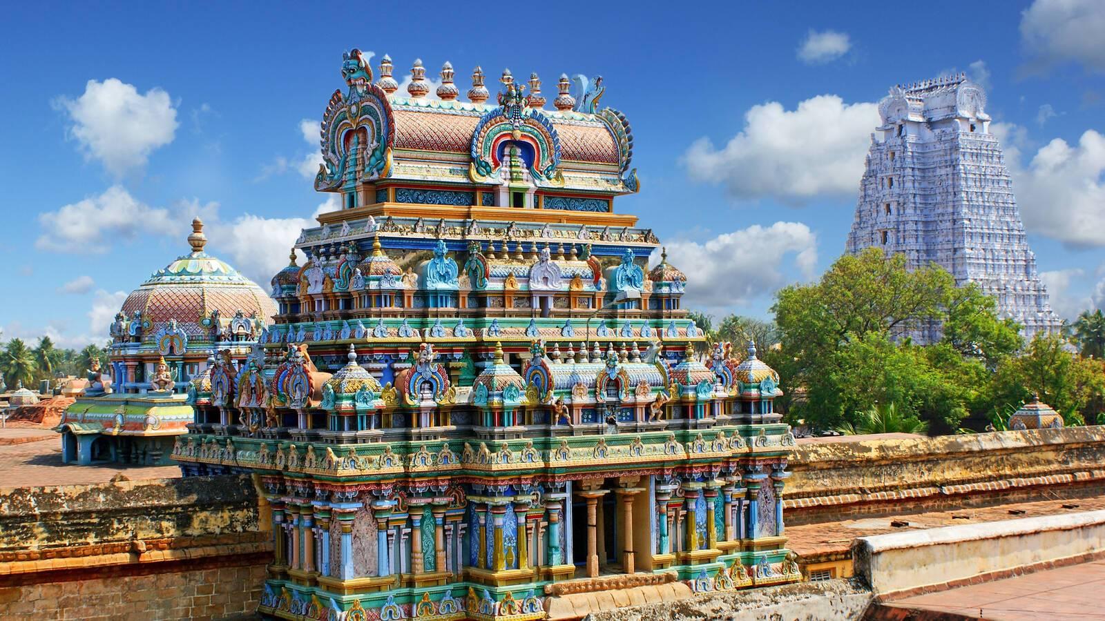 Madurai Temple Meenakshi photlook