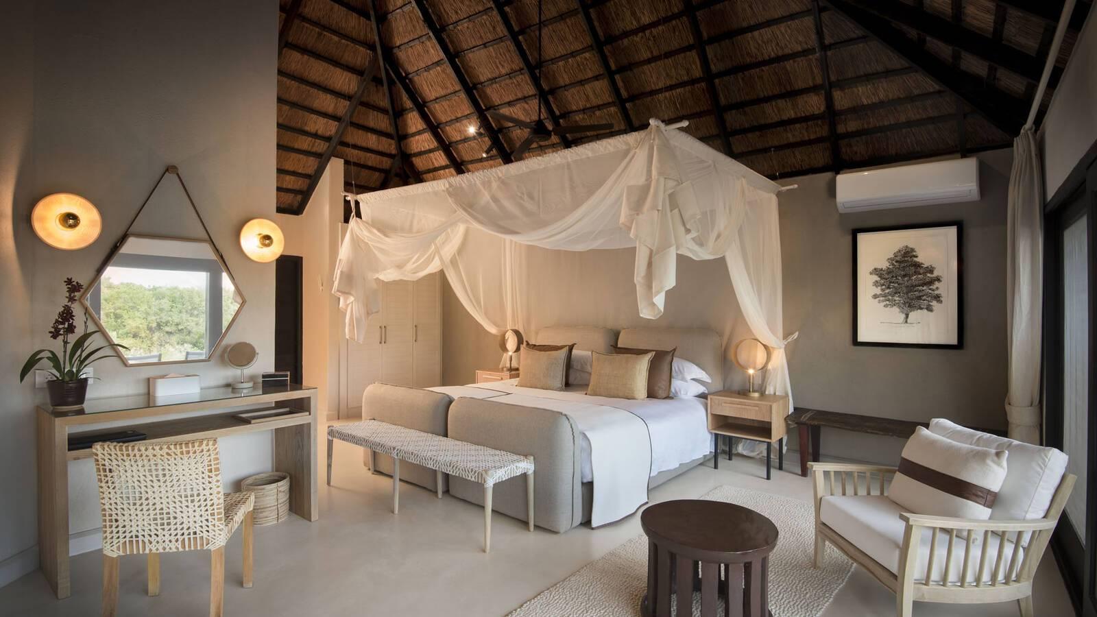 Afrique Sud Lion Sands River Lodge Luxury Suite
