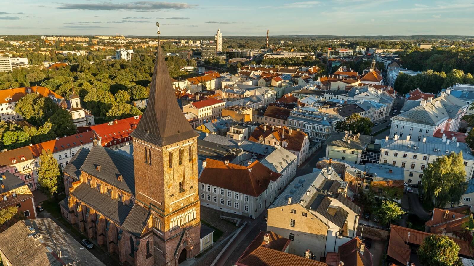 Tartu Estonie Pays Baltes