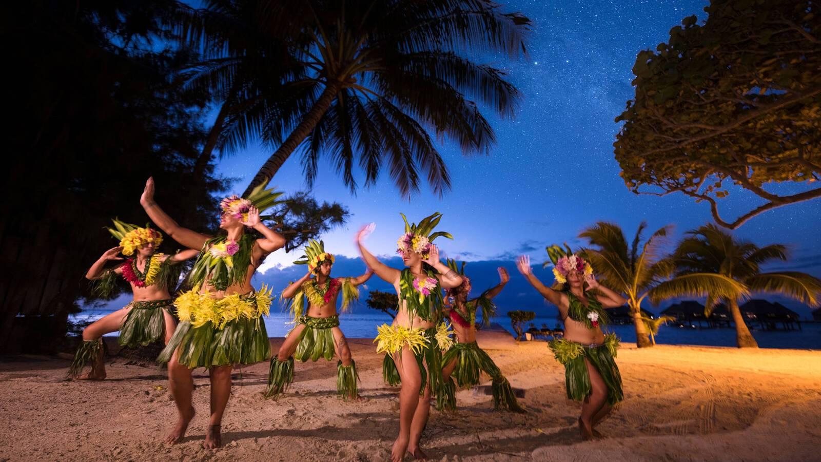 Polynesie Moorea Polynesian Show