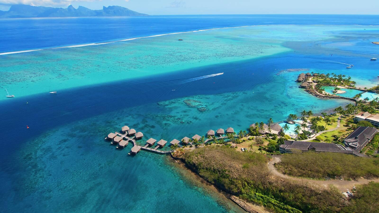 Tahiti Intercontinental Vue Polynesie