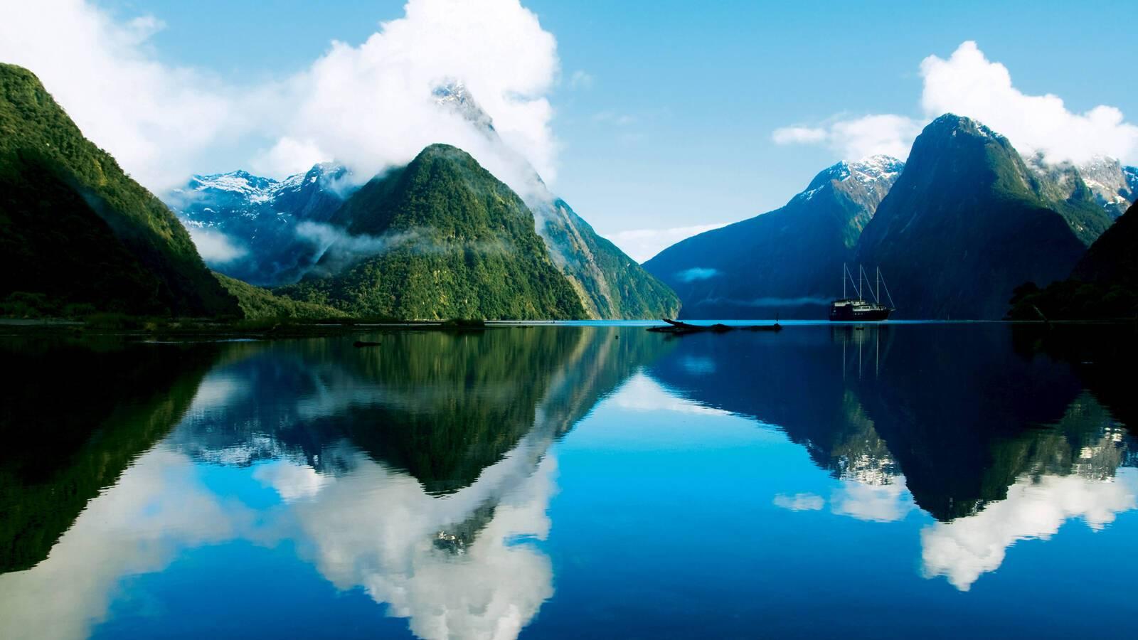 Milford Sound Nouvelle Zelande Rawpixel