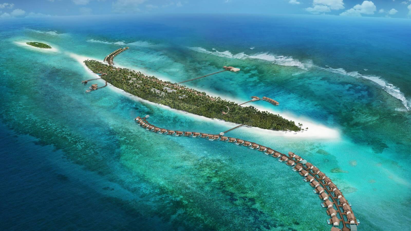 The Residence Vue Aerienne MaldivesJPG