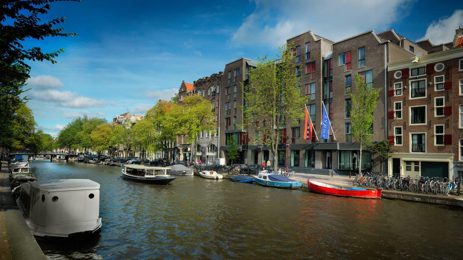Andaz Exterieur Jour Canaux Amsterdam Pays Bas