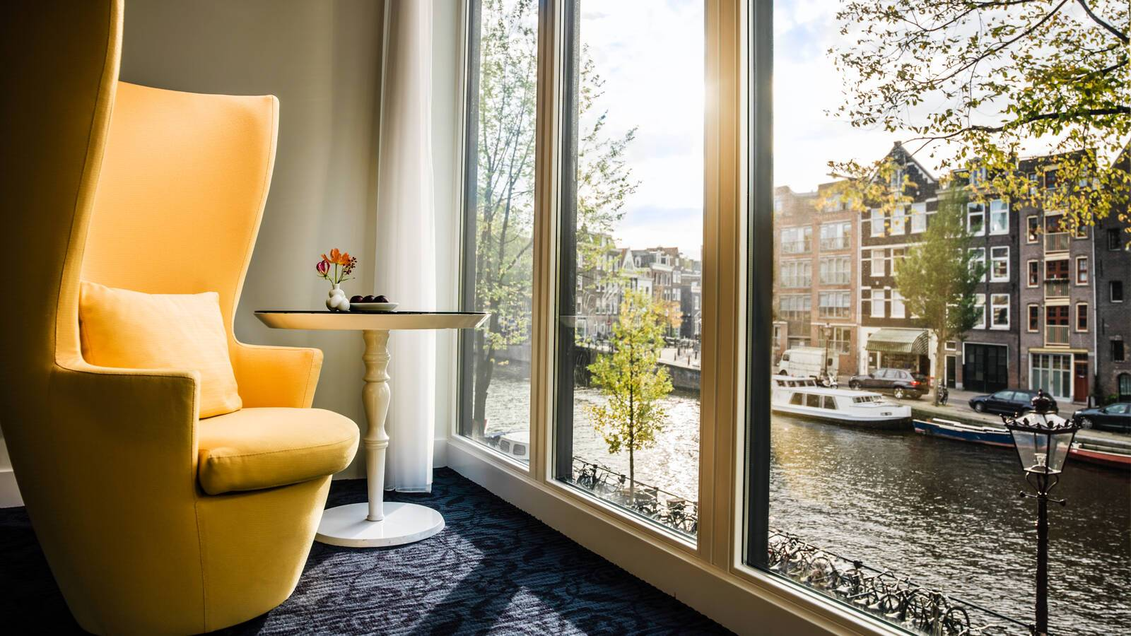 Andaz Large Canal View Chambre Vue Amsterdam Pays Bas