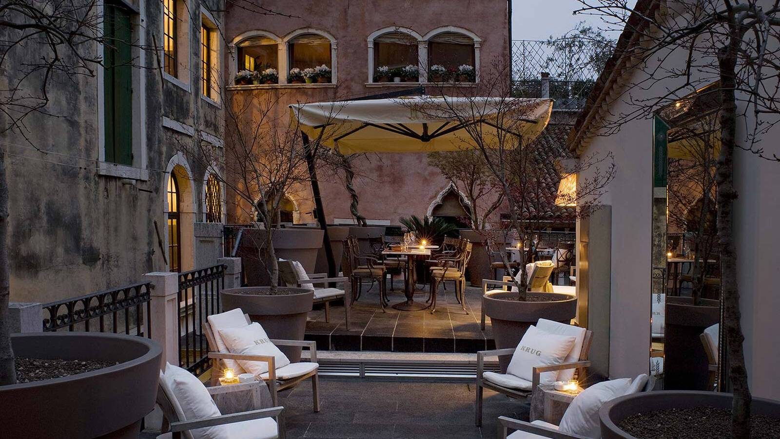 PalazzinaG Venise terrasse