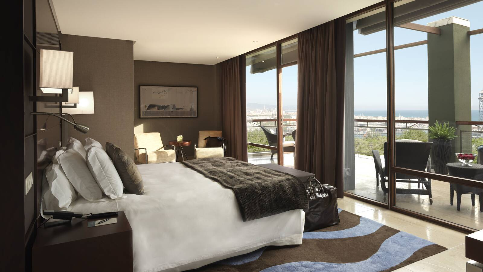 Miramar Barcelone premium chambre