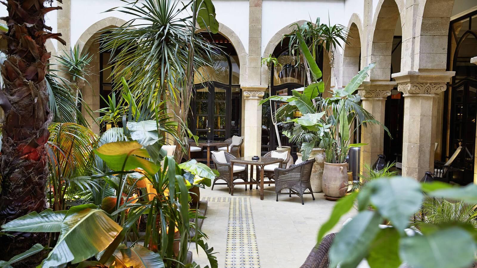 Heure Bleue Essaouira Patio