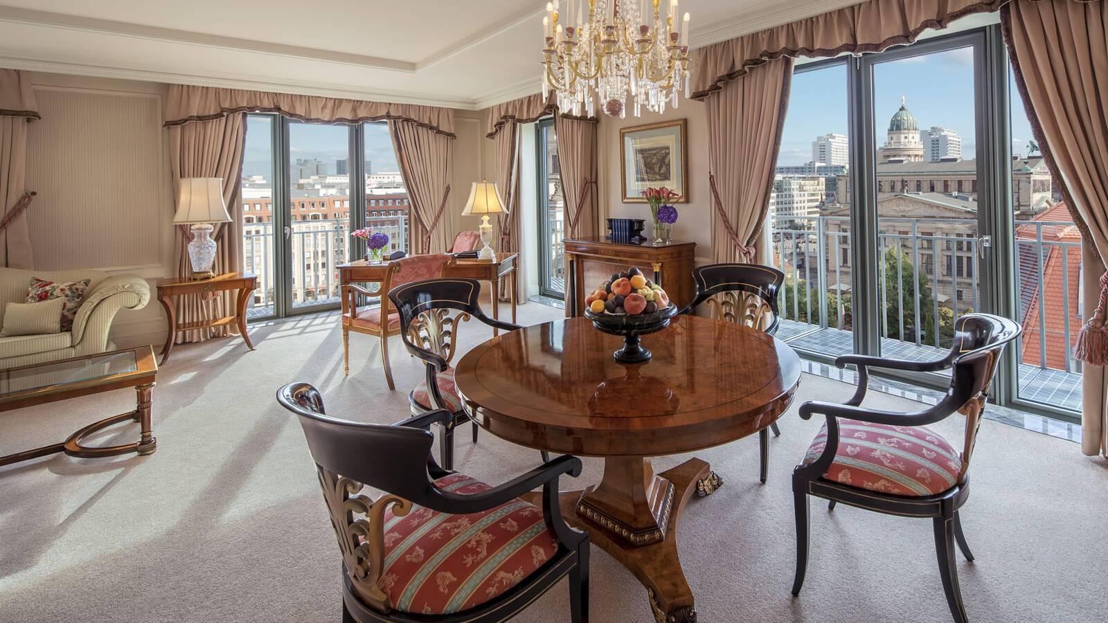 Regent Berlin Gendarmen Suite living Room