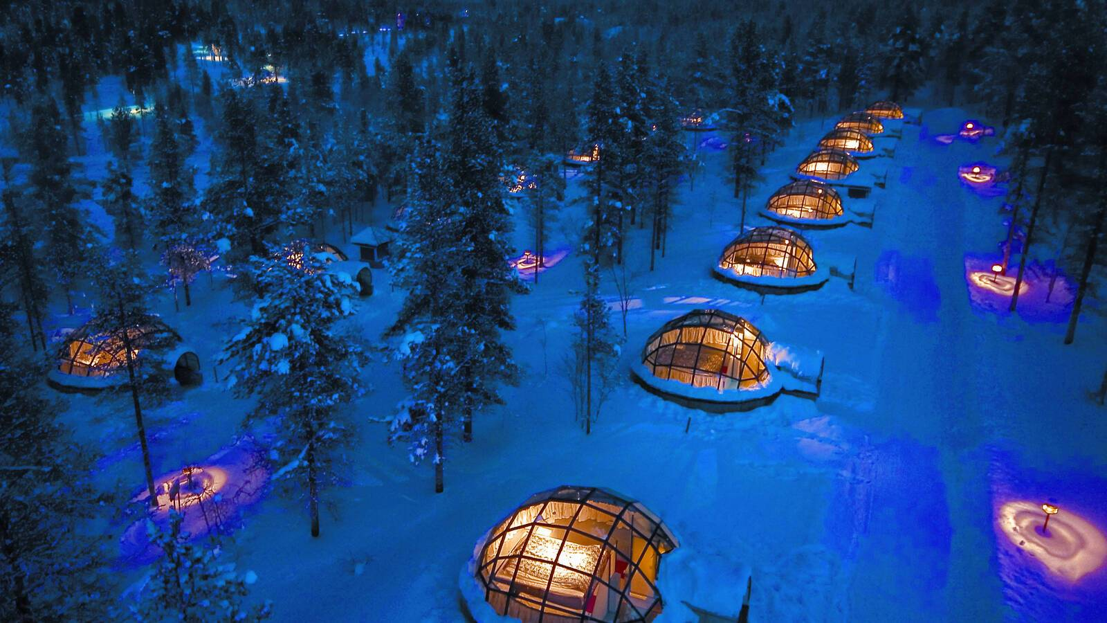 Kakslauttanen Igloos Laponie