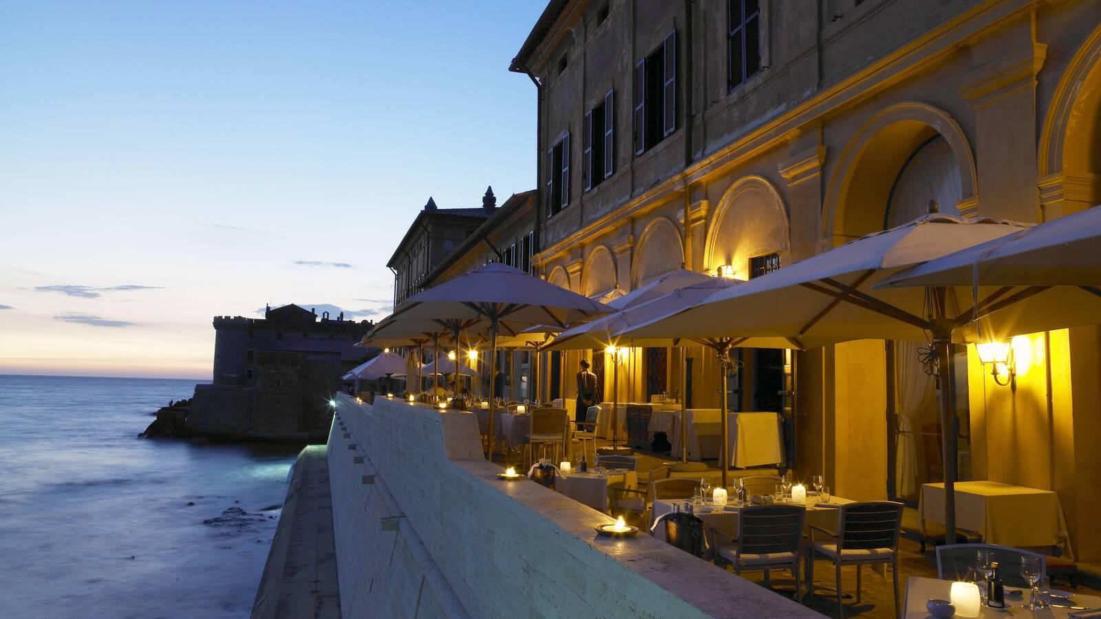 La Posta Vecchia Restaurant The Cesar Terrasse Rome