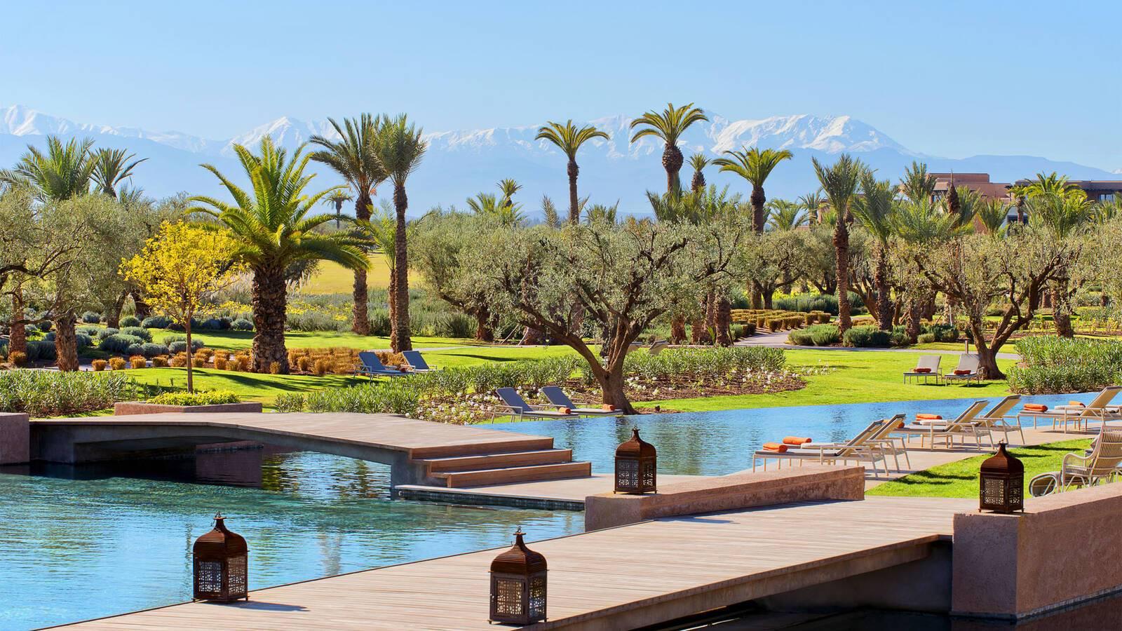 Fairmont Royal Palm Marrakech Piscine