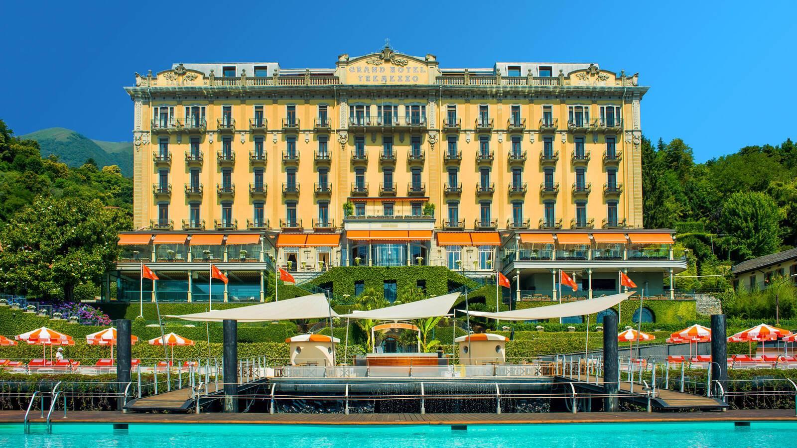 Grand Hotel Tremezzo Lac Come Italie Facade