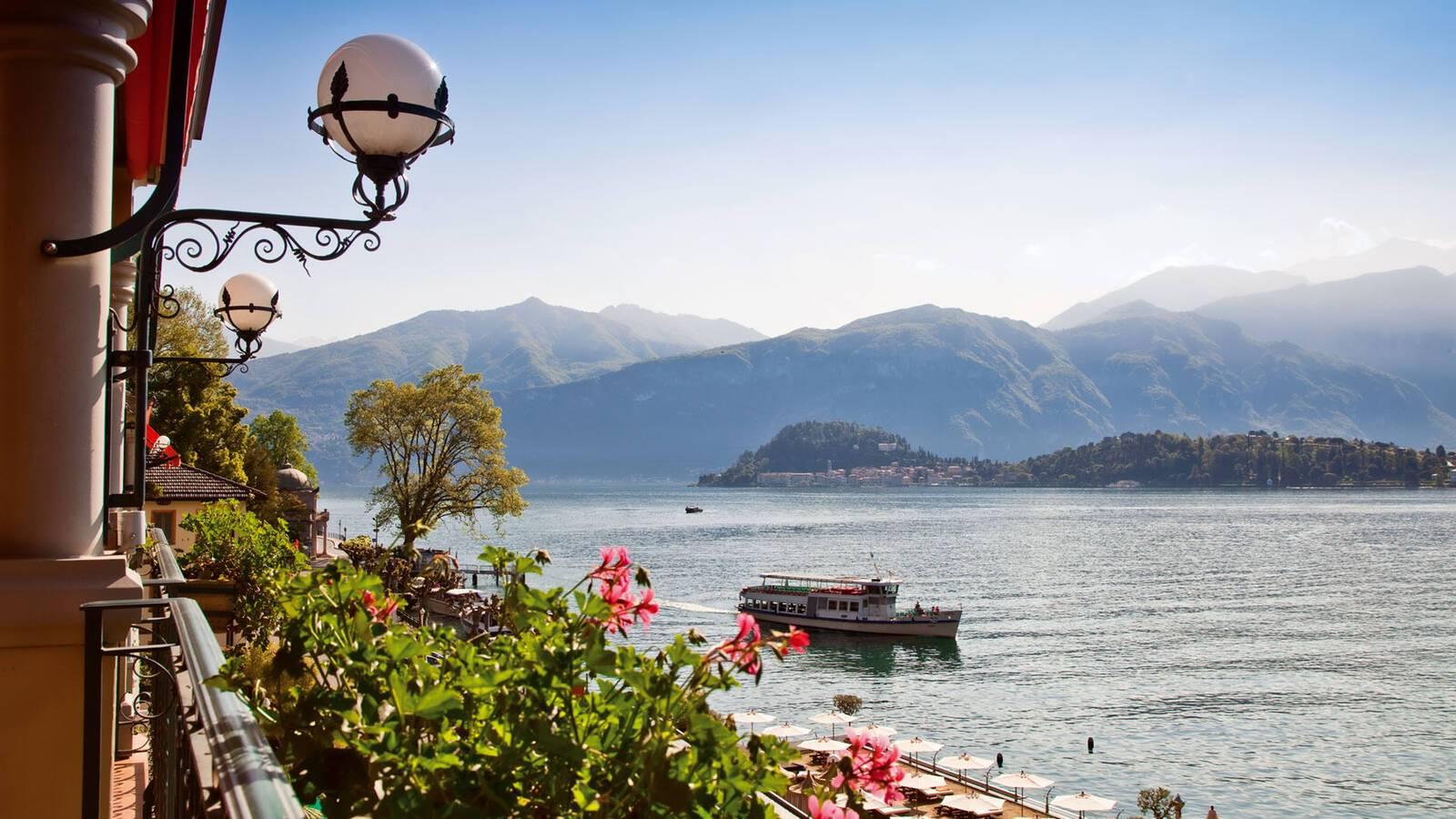 Grand Hotel Tremezzo Lac Come Italie Vue