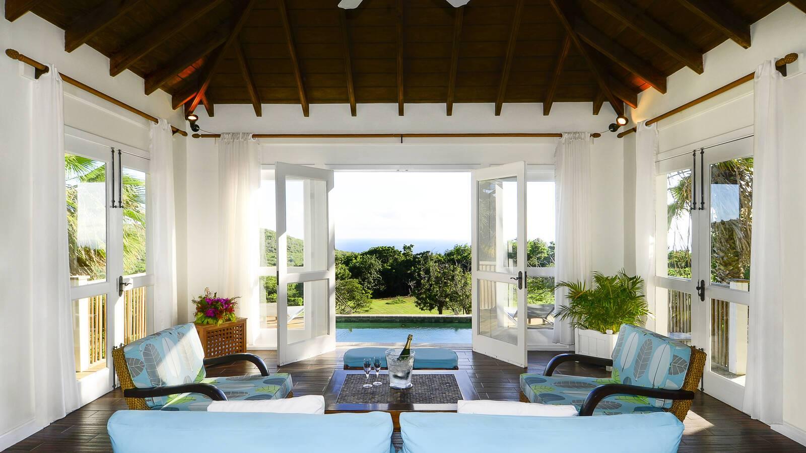 Montpelier Plantation Tamarind Villa Living Saint Christophe Et Nieves