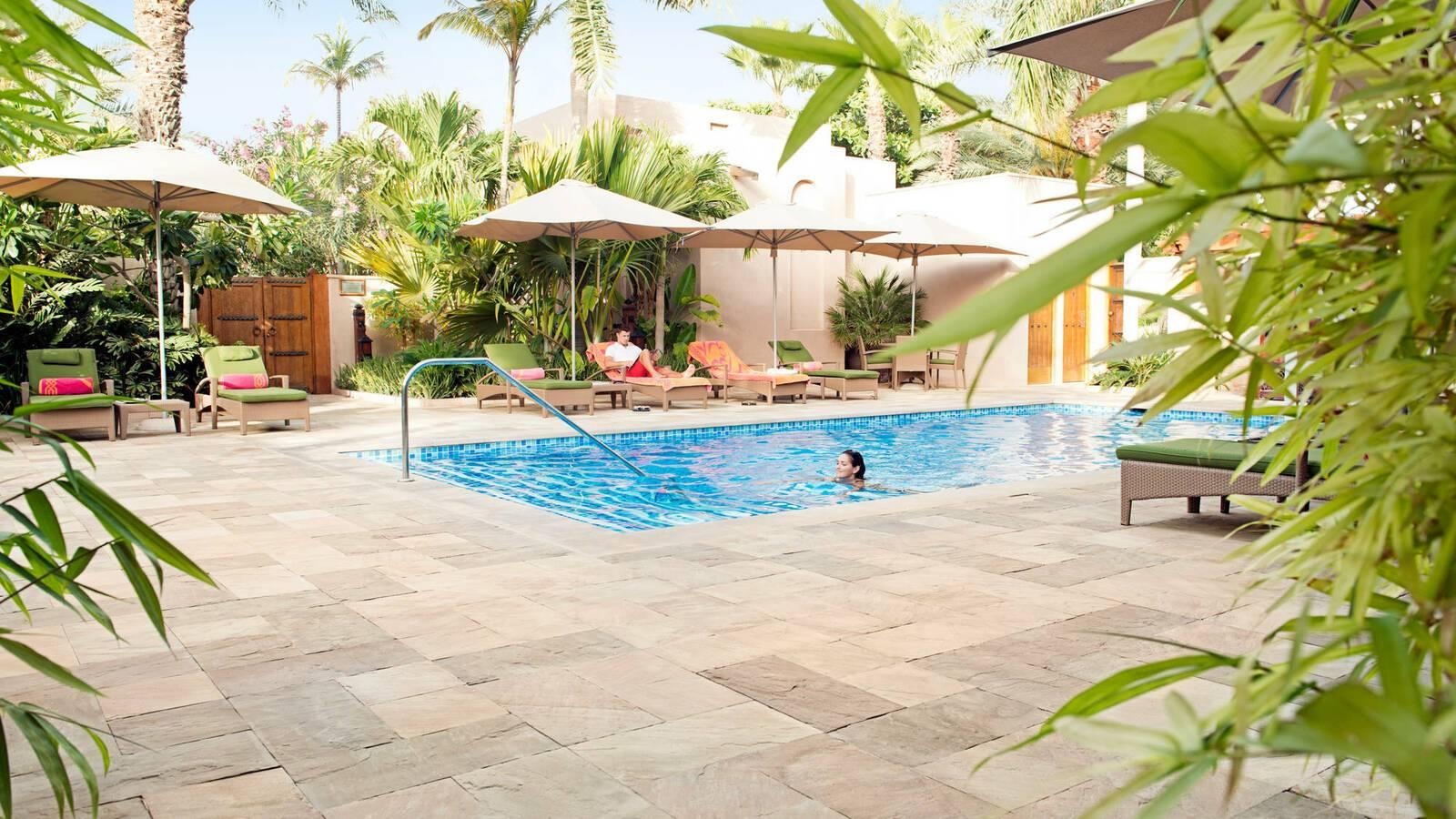 Jumeirah al Qasr Dubai piscine Spa