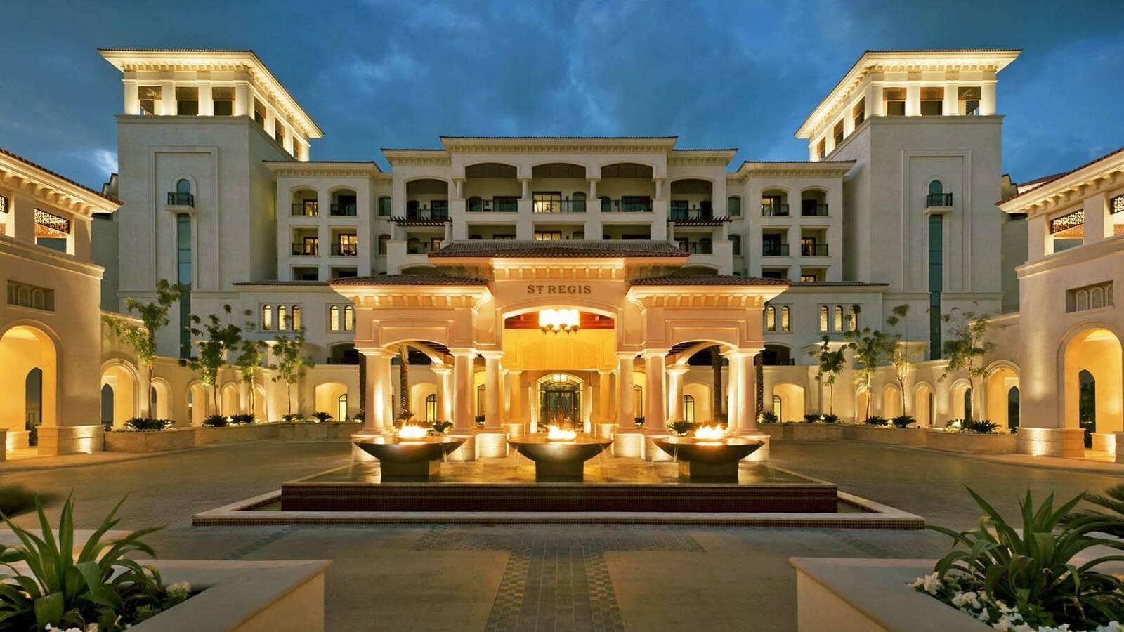 Saint Regis Saadiyat Abu Dhabi exterieur