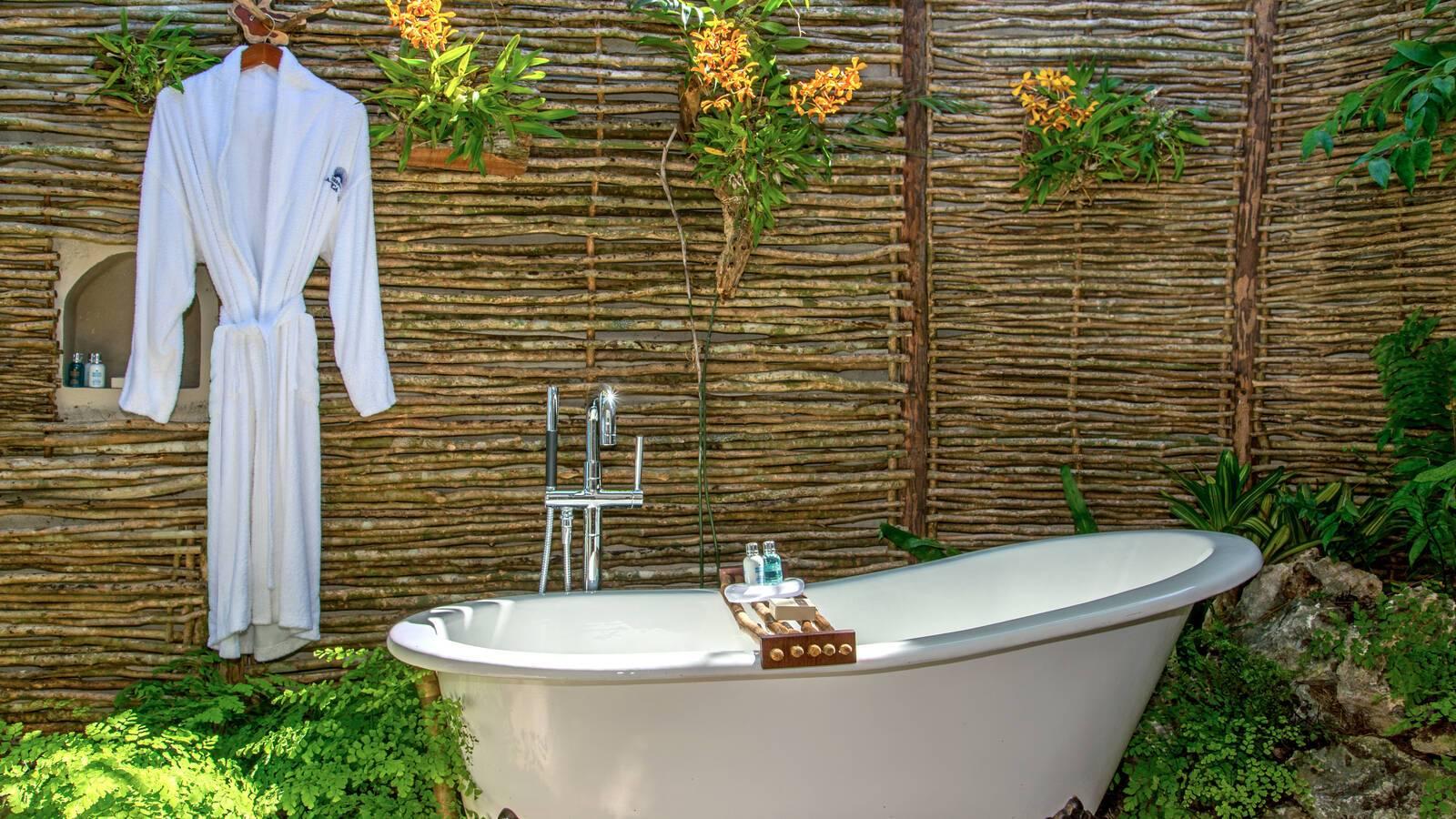 Jamaica Inn salle de bain cottage Jamaique
