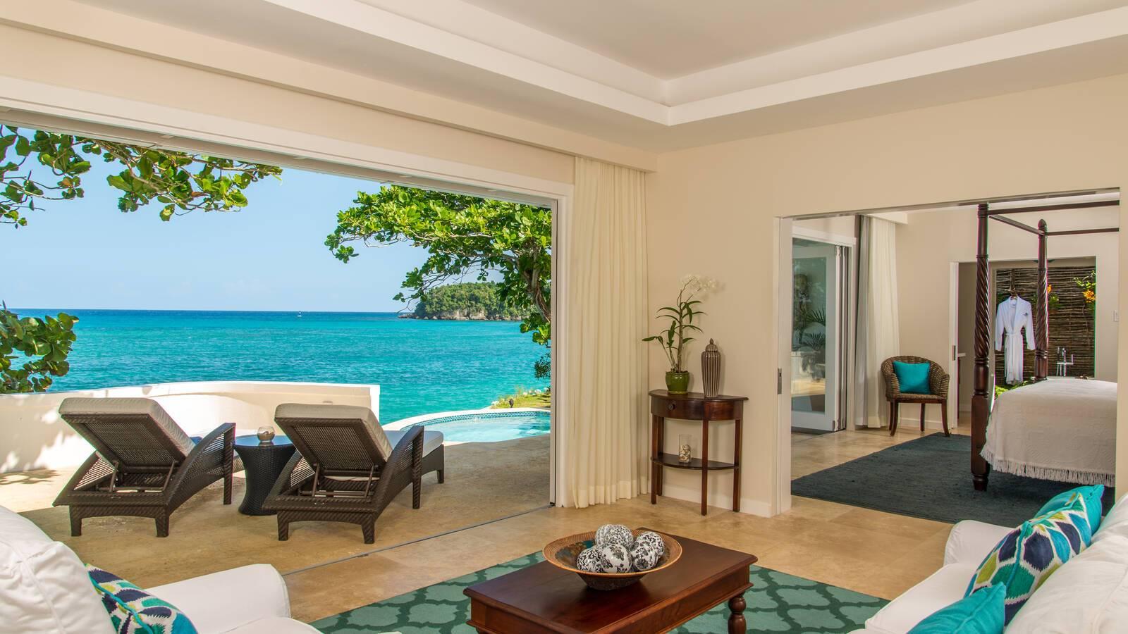 Jamaica Inn salon Cottage Jamaique