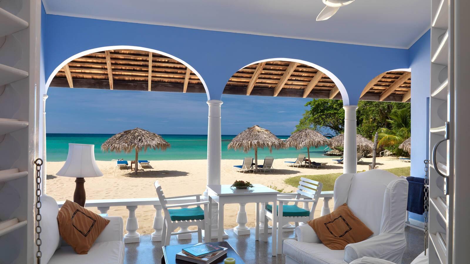 Jamaica inn suite veranda jamaique