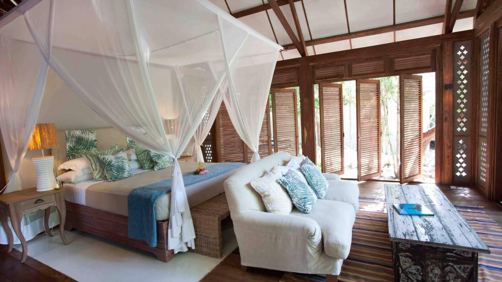 Vamizi Island Kipila chambre Mozambique AndBeyond