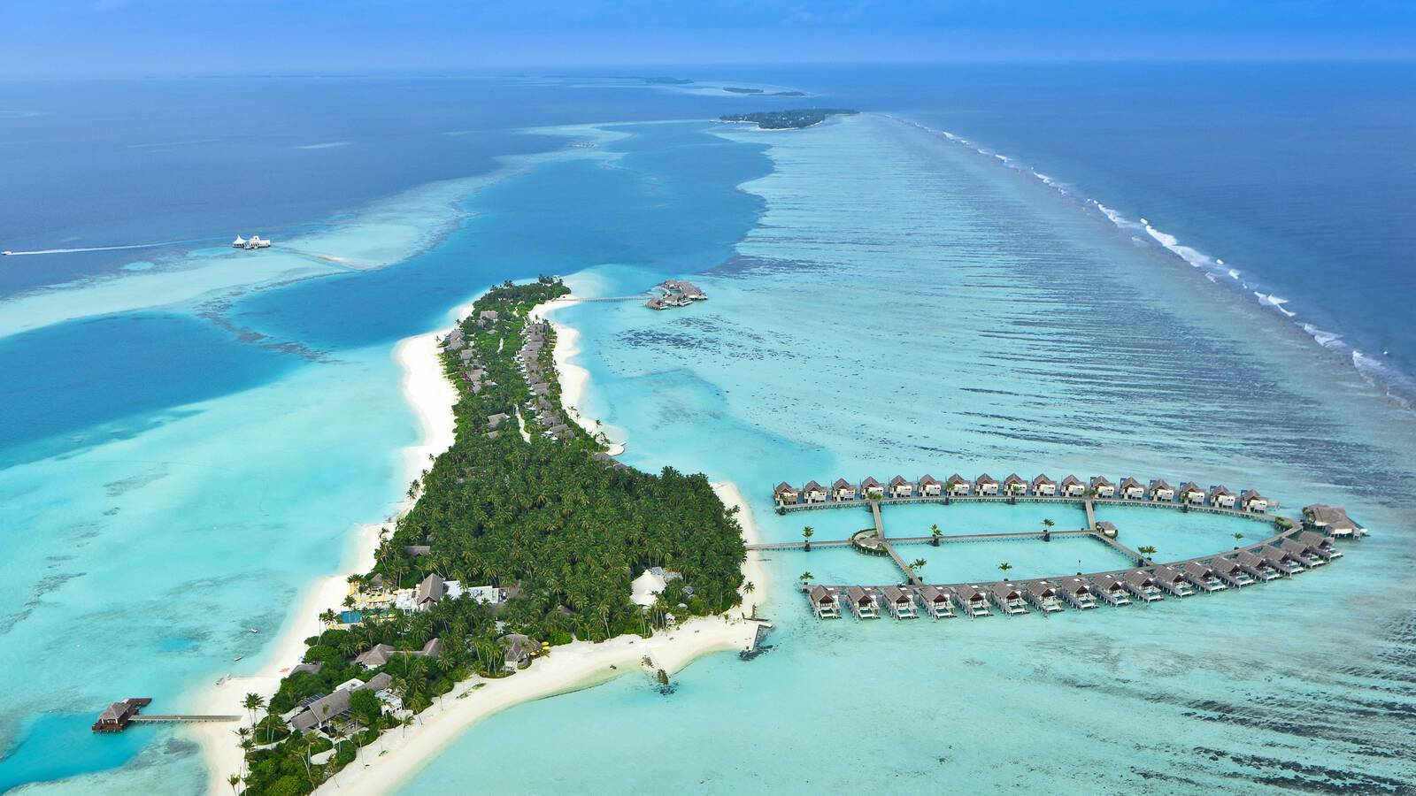 Niyama Maldives Vue Aerienne
