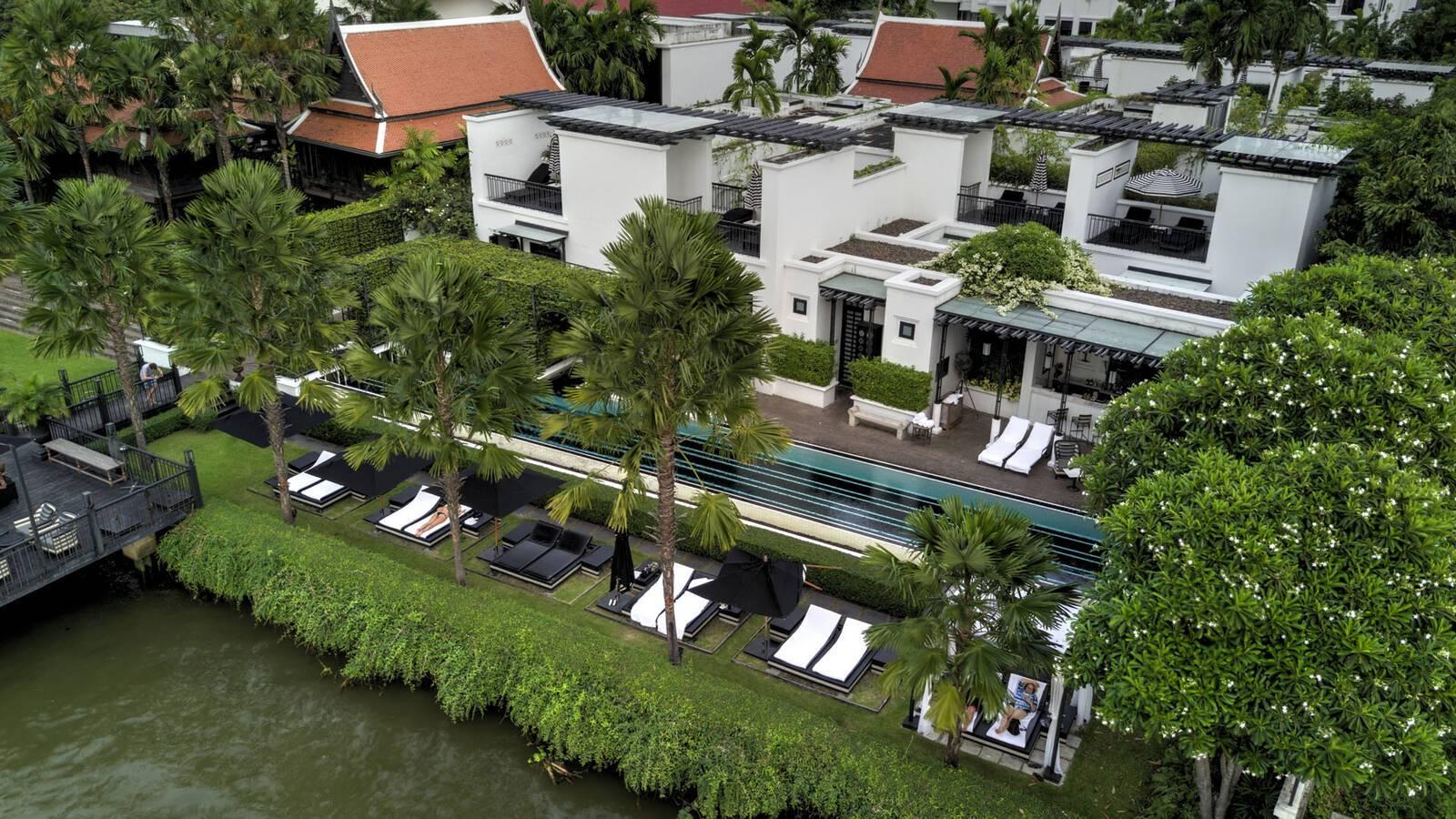 Siam Bangkok Vue Aerienne