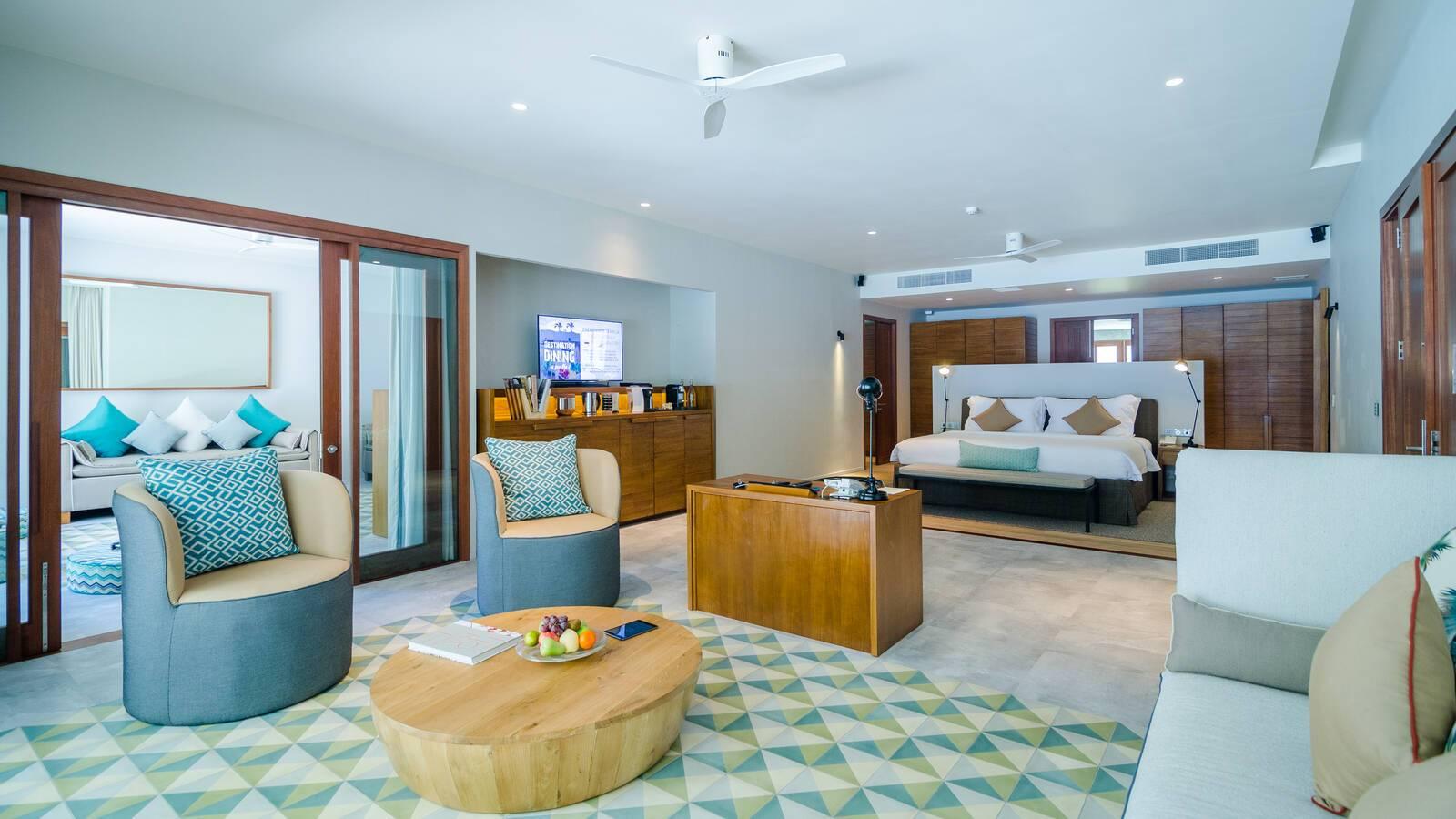 Amilla Maldives Resort Beach House Chambre