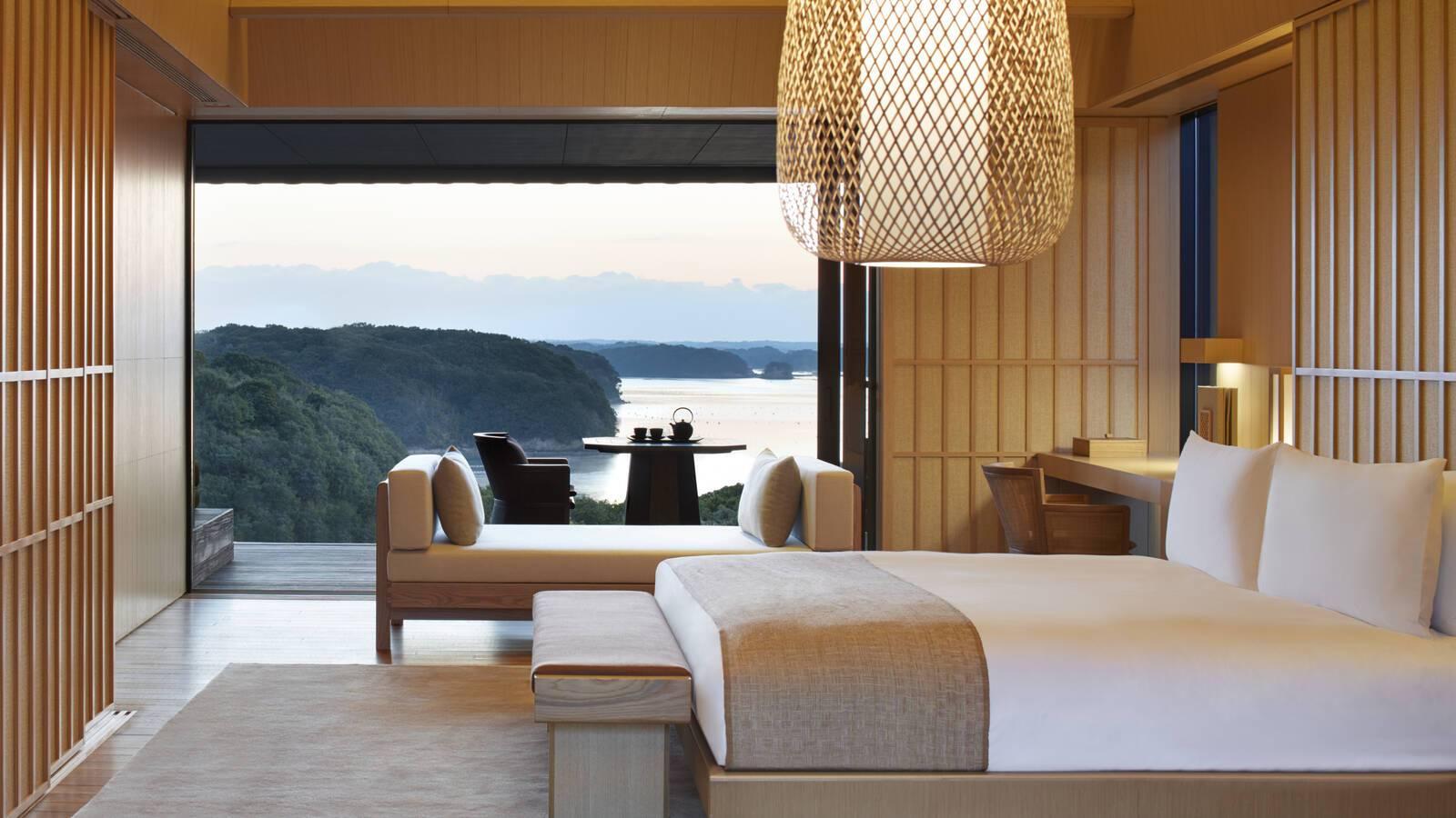 Amanemu Nagi Suite Chambre Combine Japon