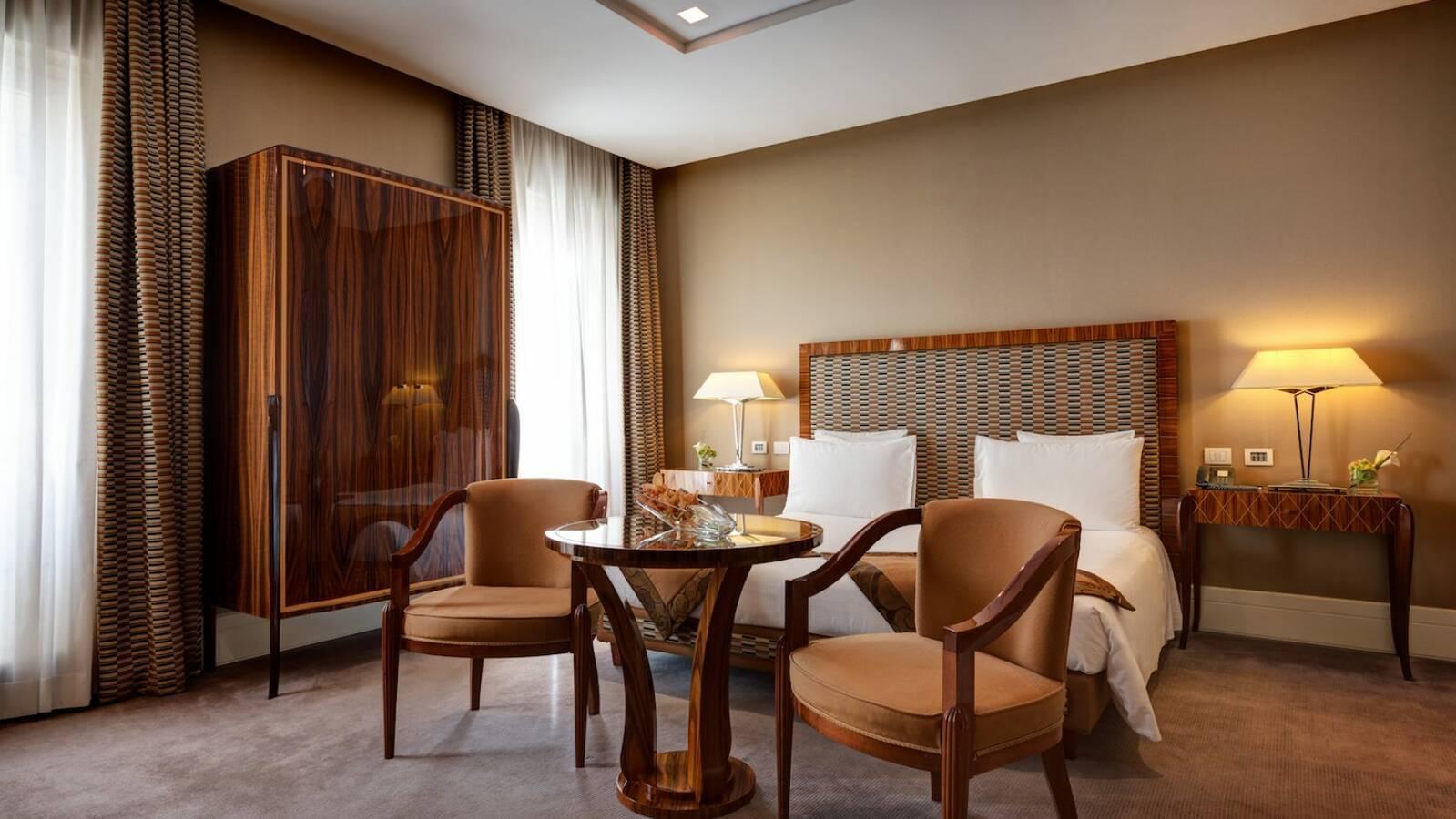 Grand Hotel Via Veneto Grand Deluxe Chambre Rome Italie