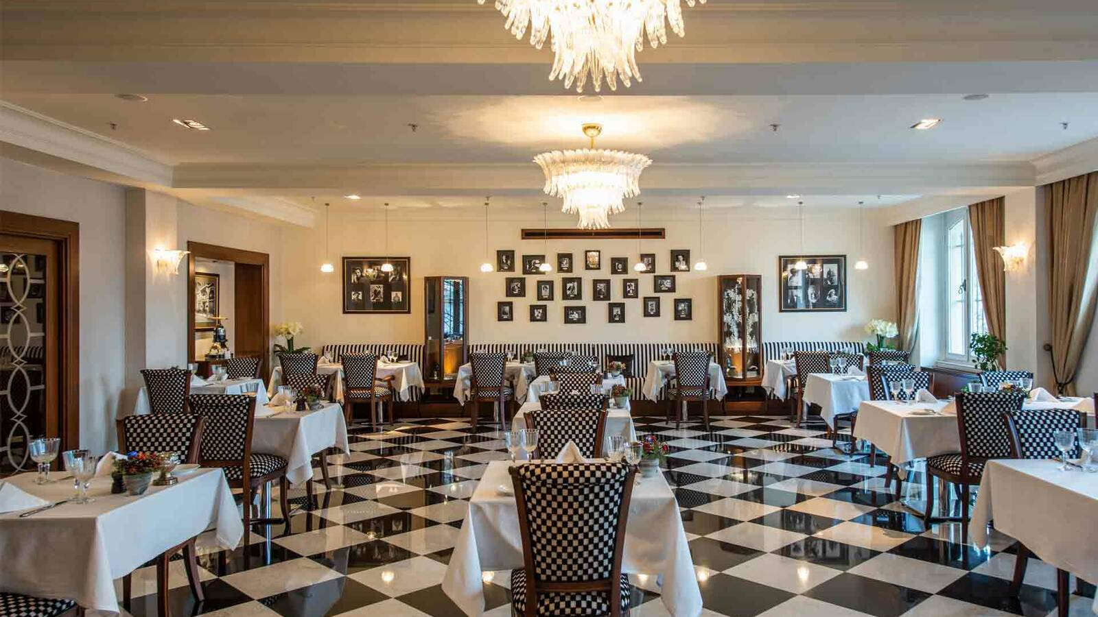 Turquie Pera Palace Restaurant Agatha