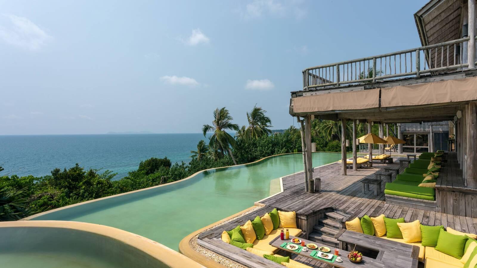 Soneva Kiri Thailande 6 Bedroom Sunset Ocean View Pool Reserve