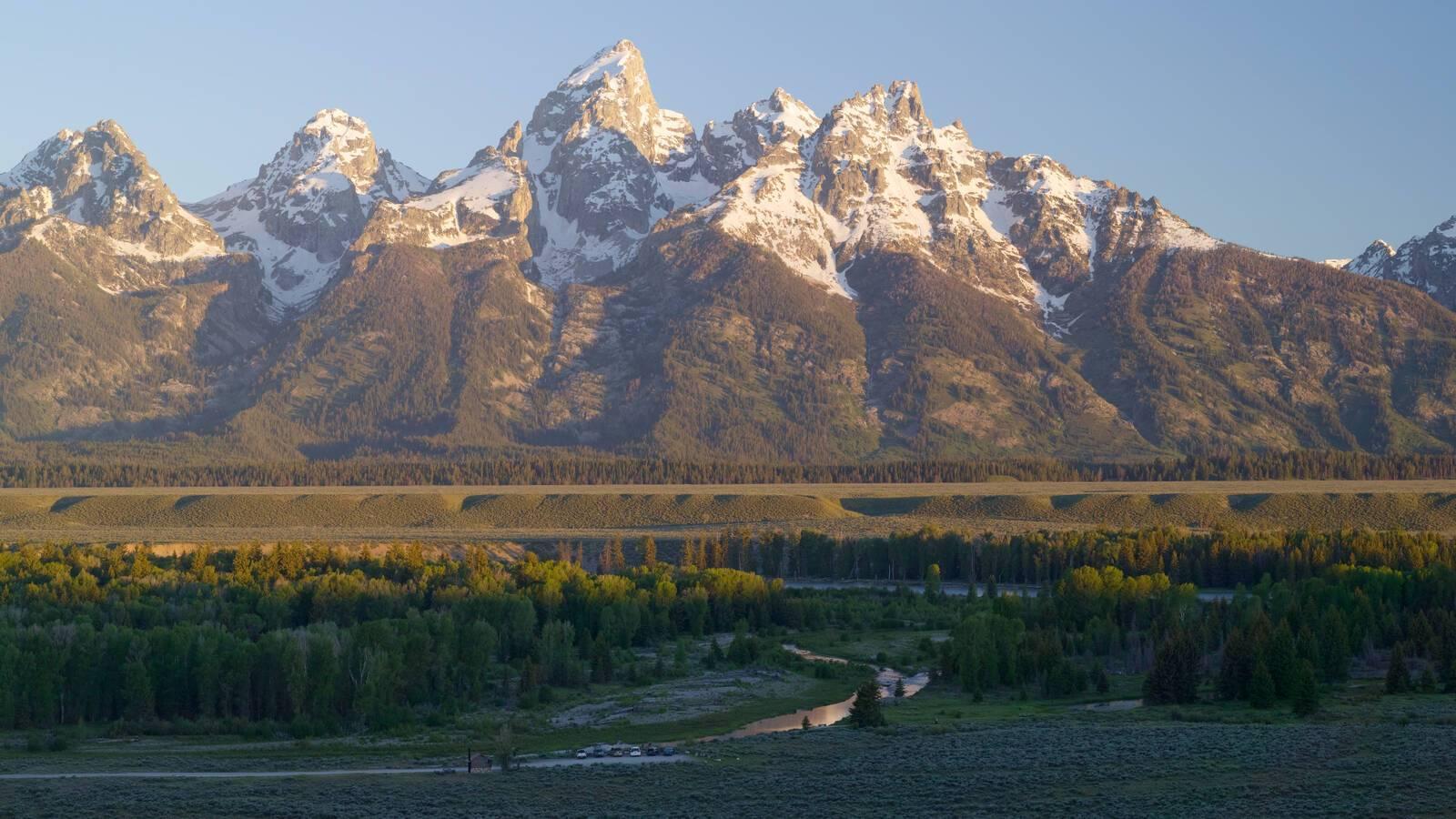 Amangani Vue Etats Unis Yellowstone