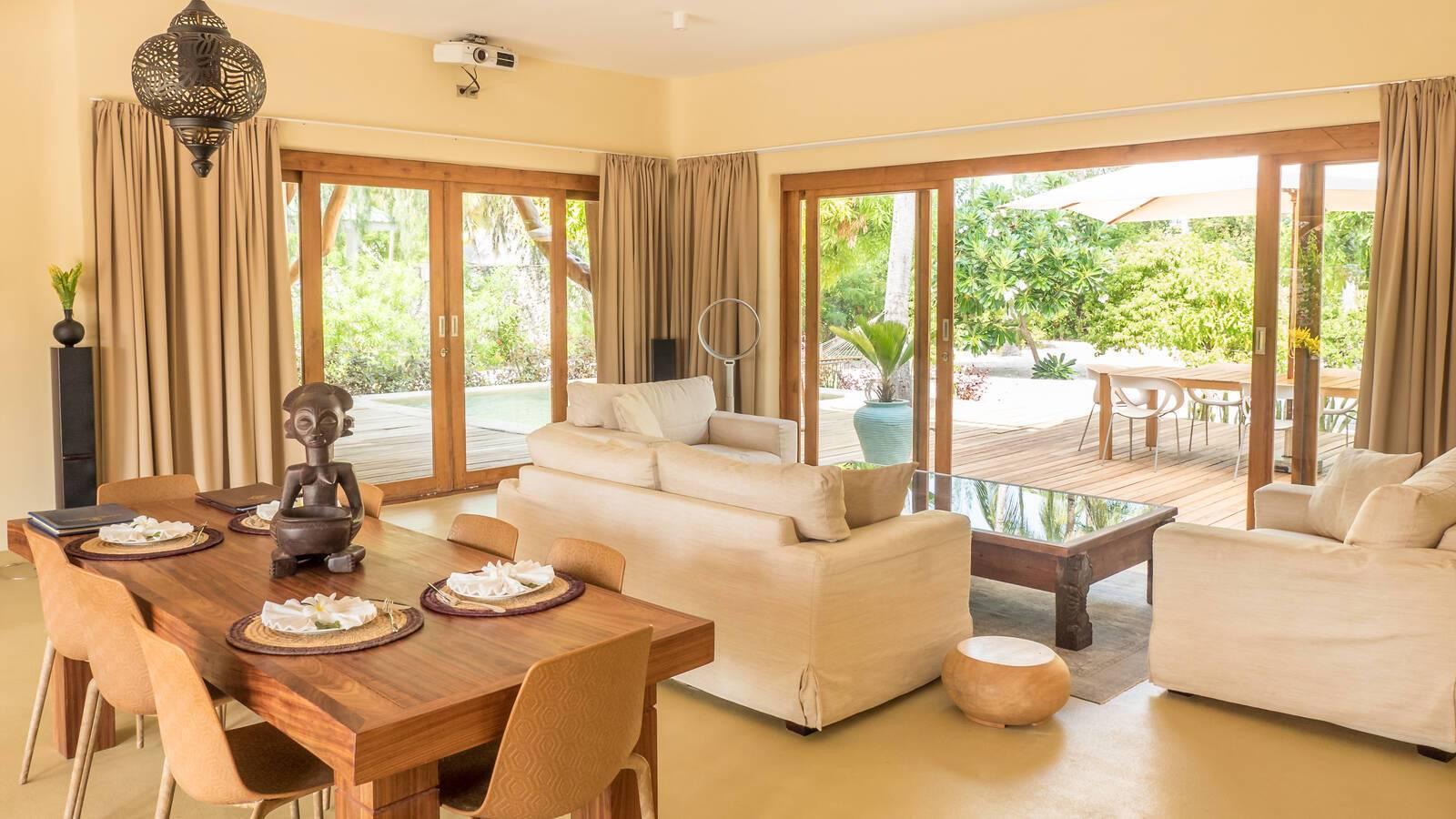 White Sand Zanzibar Presidential Villa Salon