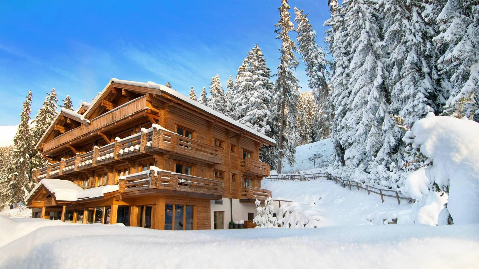The Lodge Verbier Suisse Virgin Exterieur Hiver