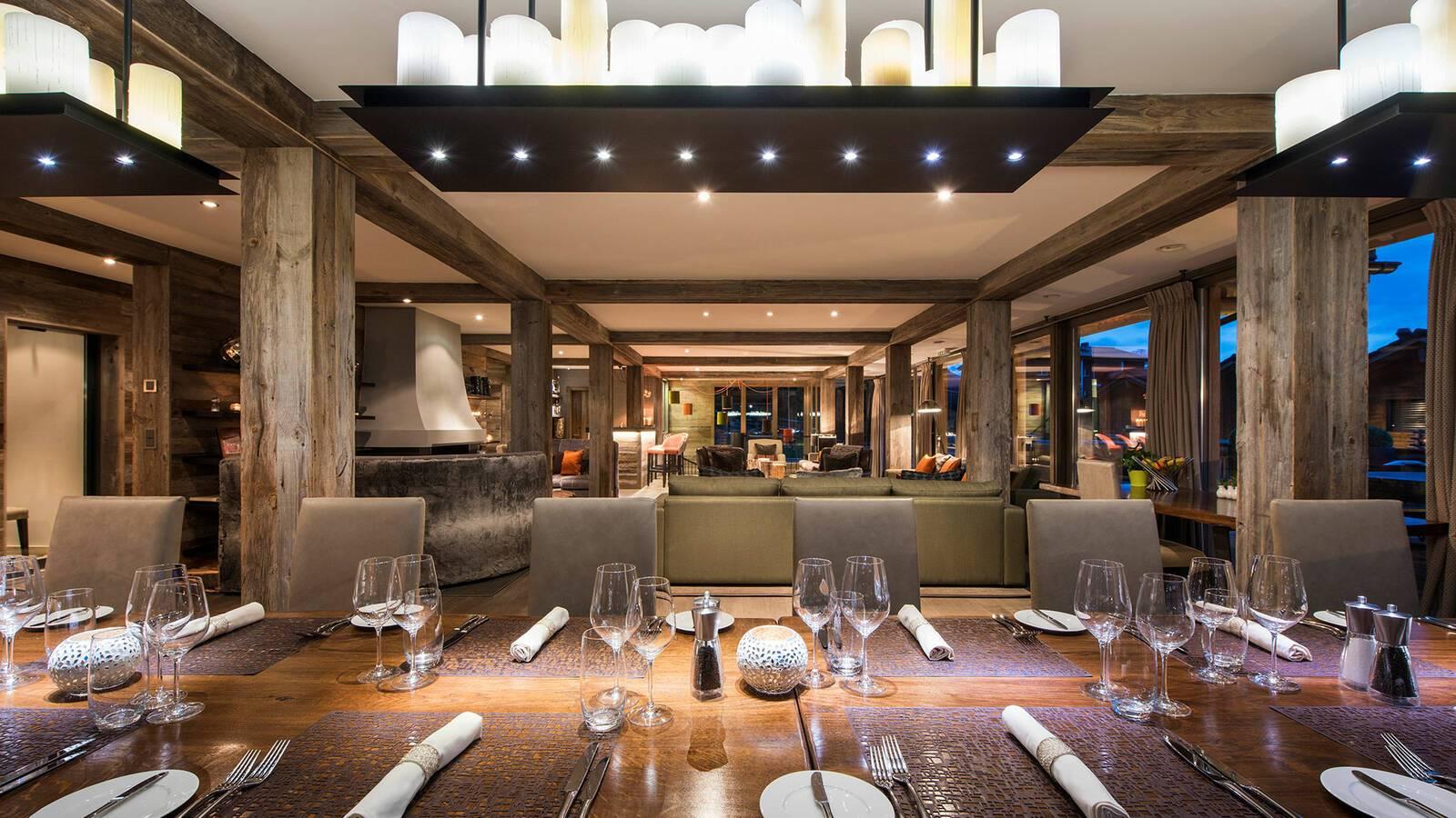 The Lodge Verbier Suisse Virgin Restaurant