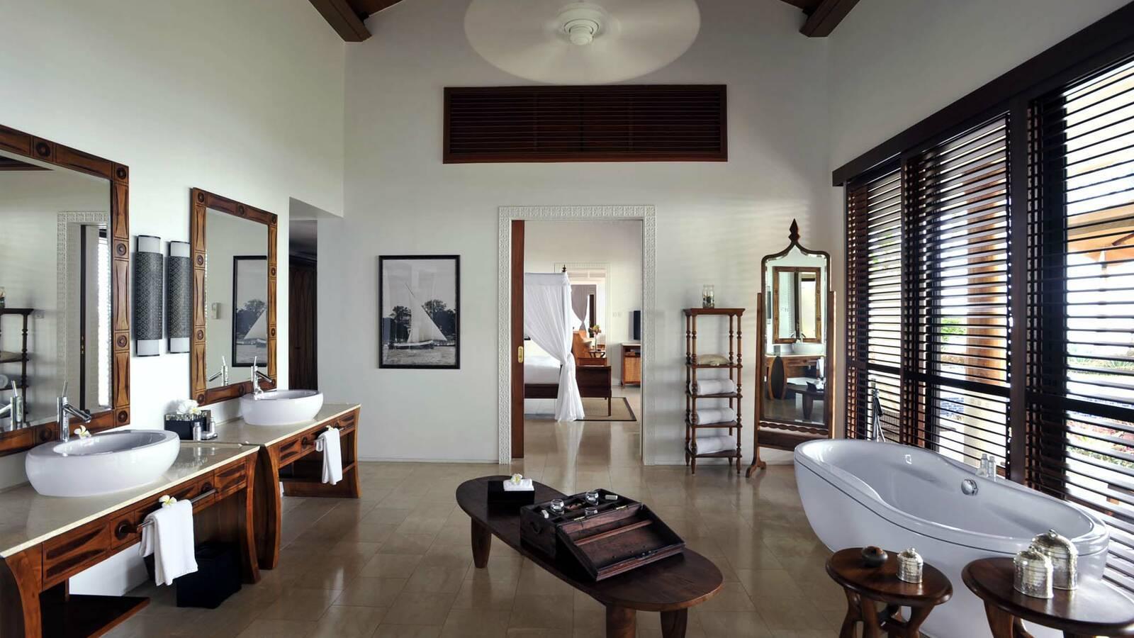 The Residence Suite Presidentielle Salle De Bain Zanzibar