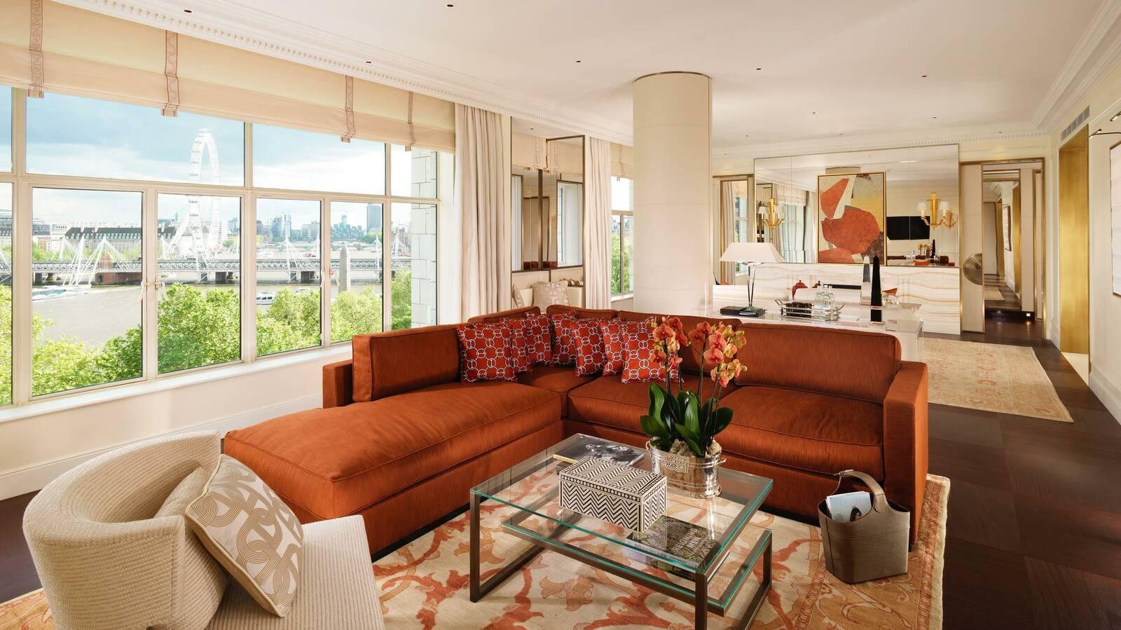 Fairmont Savoy Londres Suite Living Room