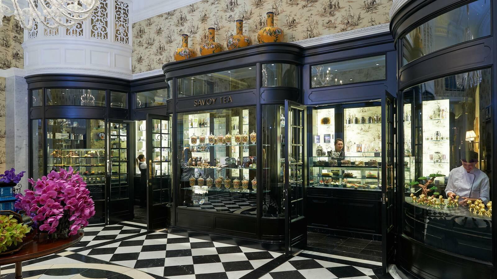 Fairmont Savoy Londres Tea