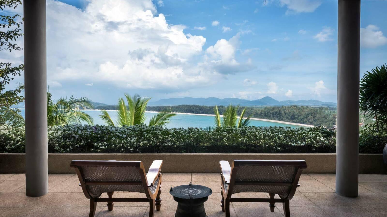 Amanpuri Villa 40 Terrasse Thailande
