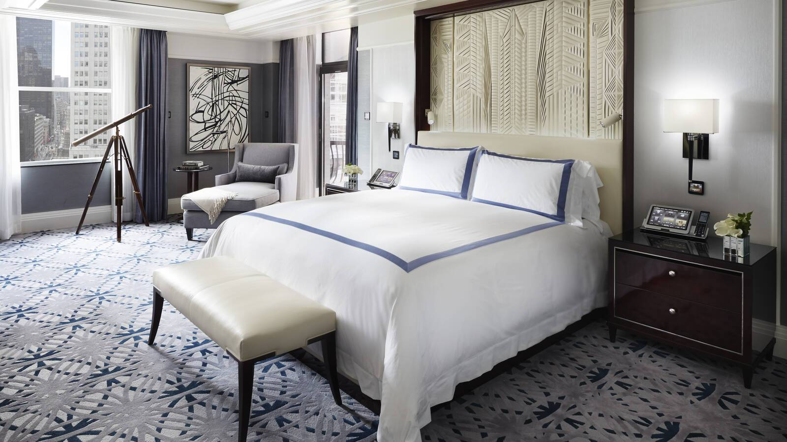 Peninsula New York Suite Master Bedroom